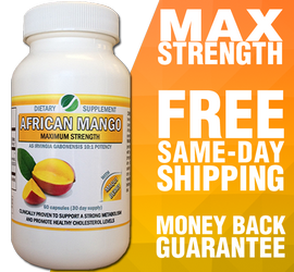 African Mango supplement capsules