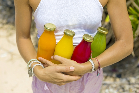 Juices for healthy lifestyle