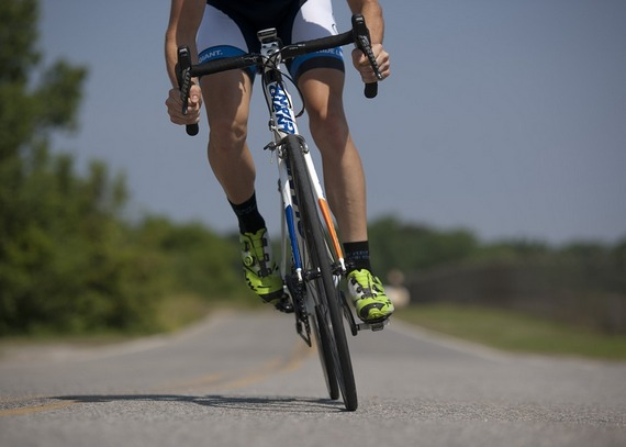 Pedal your weight away by cycling