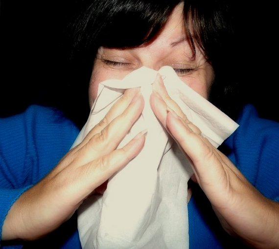 Sneezing is a common allergy symptom