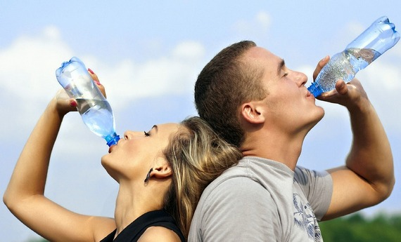 Drinking water benefits your health