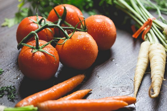Introduce fresh vegetables into your diet