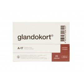 Glandokort capsules, the Adrenal Gland peptide bioregulator
