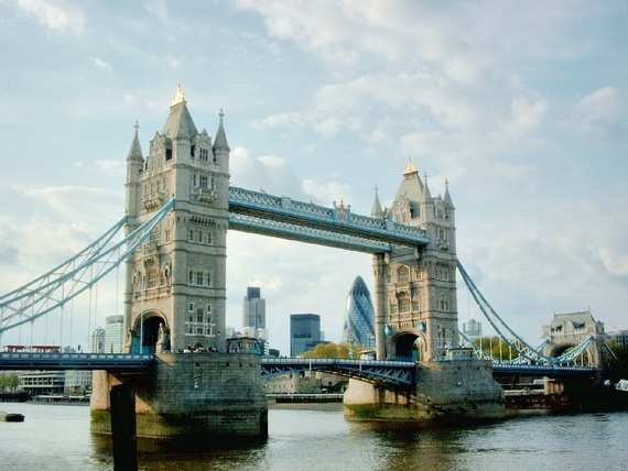 London's landmark Tower Bridge