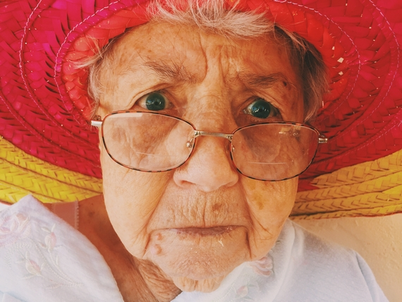 Different conditions affect skin in old age